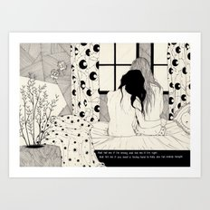 The Tell Tale Heart Art Print