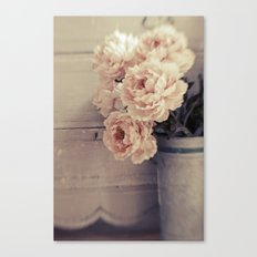 Peaches & Cream Canvas Print