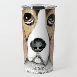 Soulful Eyes by Vale Marino Travel Mug