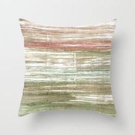 Rustic abstract Throw Pillow