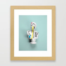 The Geometry of the Viewer Framed Art Print