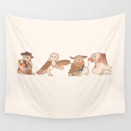 Doctor Hoo Wall Tapestry