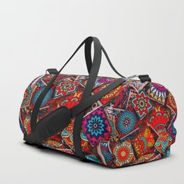 V1 Traditional Moroccan Colored Stones. Duffle Bag