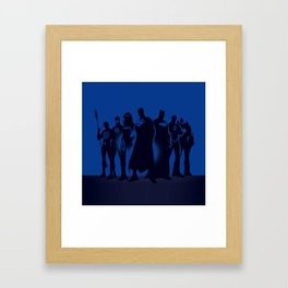 superhero Framed Art Print