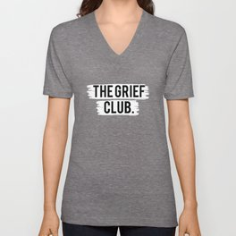 The Grief Club Unisex V-Neck
