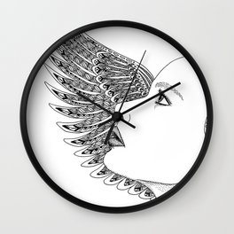 Lady Icarus Wall Clock
