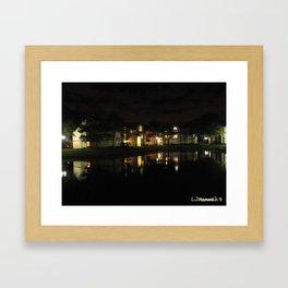 Swamped Night Framed Art Print