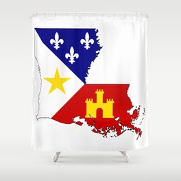 Cajun Country Shower Curtain