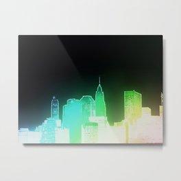 NY skyscape Metal Print