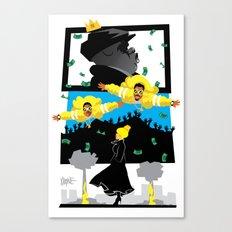 Mo Money. More Problems Canvas Print
