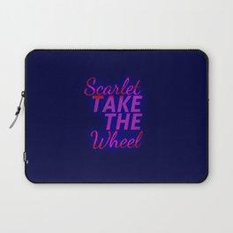 Scarlet, Take the Wheel Laptop Sleeve