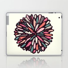 Retro Light Dahlia Laptop & iPad Skin