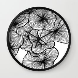 Hover Wall Clock