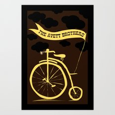 The Avett Brothers  Art Print