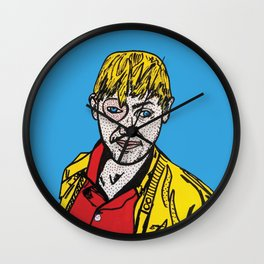 Is It Offputting? | Pop Art Wall Clock