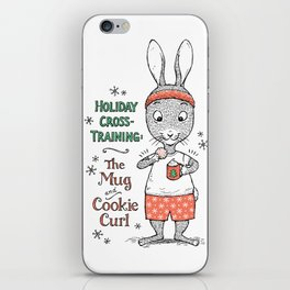 Holiday Curls iPhone Skin
