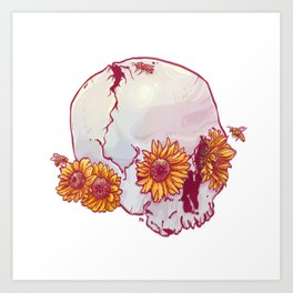 Ensoleillé Art Print