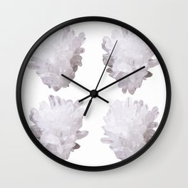 4 crystals Wall Clock