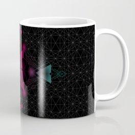 Flower of life sacred geometry spectrum Coffee Mug