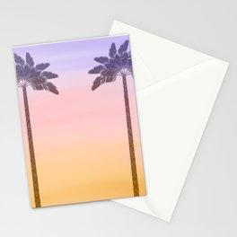 Palm Tree Sunrise  Stationery Cards