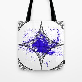 Star Blue Tote Bag