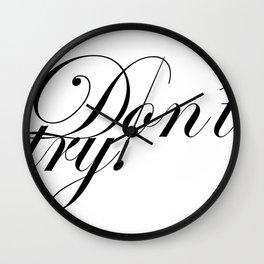 bukowski. Wall Clock