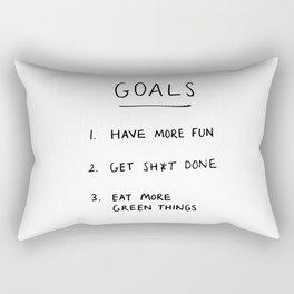 Goals Rectangular Pillow