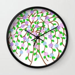 Healing Tree 3 Wall Clock