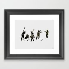 Becoming Masters of the Situation Framed Art Print