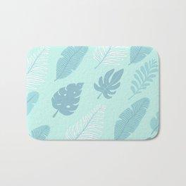 Tropical Foliage Bath Mat