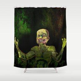 Not Noir Shower Curtain