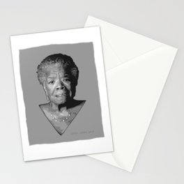 Maya Angelou Stationery Cards