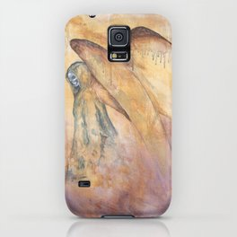 Angel of Death Painting iPhone Case