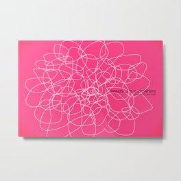 see beauty Metal Print