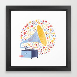 Sounds of Spring  Framed Art Print