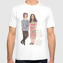 Bob Dylan & Joan Baez T-shirt