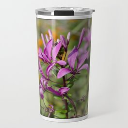 PASTEL PURPLE FLOWER  Travel Mug
