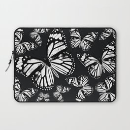 Monarch Butterflies   Monarch Butterfly   Vintage Butterflies   Butterfly Patterns   Black and White Laptop Sleeve