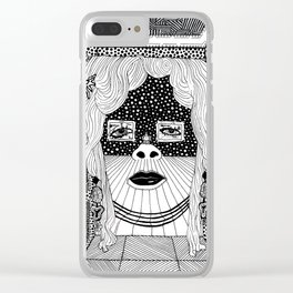 Salvador Dalí - Mae West Clear iPhone Case