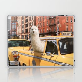 Alpaca in New York Laptop & iPad Skin