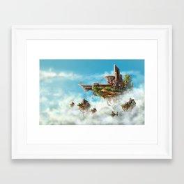 Gravity II: Denied Framed Art Print