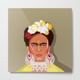 Frida Kahlo Didi Metal Print