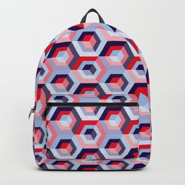 Pattern graphic cubes Backpack
