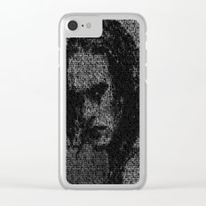 Eric Draven: The Crow Clear iPhone Case