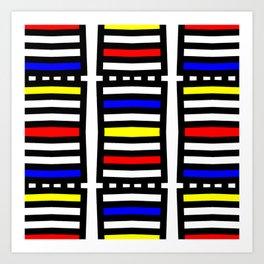 Rachna Bauhaus 6 Art Print