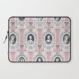 Science Women Toile de Jouy - Pink Laptop Sleeve