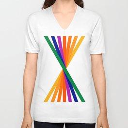 Rainbow Stix Unisex V-Neck