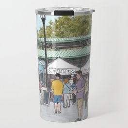 Davis Farmers Market Travel Mug