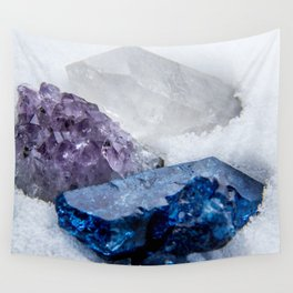 Crystals Wall Tapestry