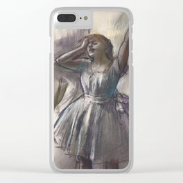 Edgar Degas - Dancer Stretching Clear iPhone Case